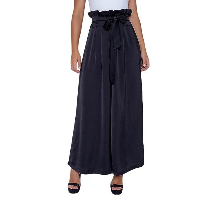 più popolare 100% originale molte scelte di iBaste 2018 Moda Donna Estate Pantaloni Larghi Eleganti ...
