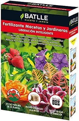 Semillas Batlle 710760UNID Fertilizante macetas y jardineras, 1.5 ...