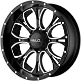 amazon wheels tires wheels automotive car truck suv 1978 Chevy Truck Hood helo he879 wheel with gloss black machined milled 17x9 5x135mm