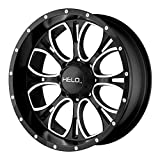 Helo HE879 Wheel with Gloss Black Milled (17x9