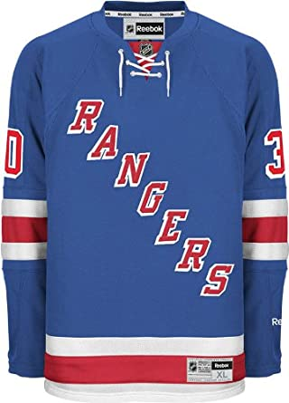 Henrik Lundqvist New York Rangers Navy Blue Youth Name and Number T-Shirt