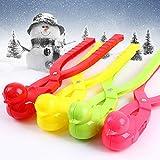dezirZJjx Outdoor Snow Ball Maker, Duck Shape Snowball Maker Winter Snow Scoop Clip Sand Clay Mold Tool Kids Toy Random Color