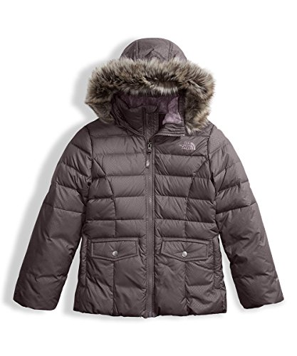 The North Face Big Girls' Gotham 2.0 Down Jacket - rabbit grey, l/14-16 by The North Face