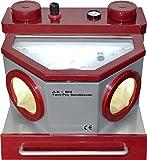 Dental Lab Equipment AX-B5 Fine Blasting Unit Twin Pen Sandblaster 2 Tanks