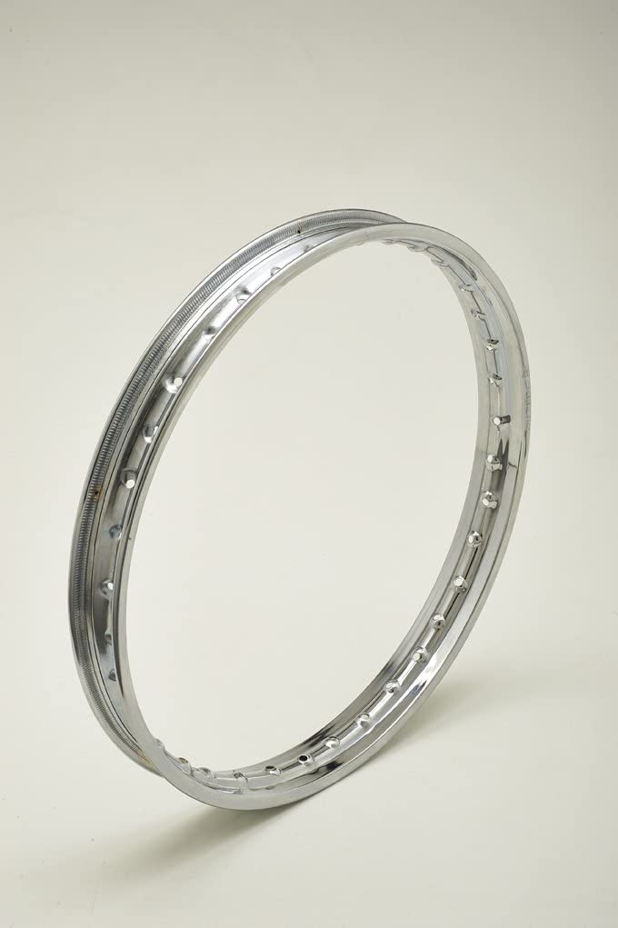 Jante en acier chrom/é chromed steel wheel rim 1.60/ x 17/ 36/ trous