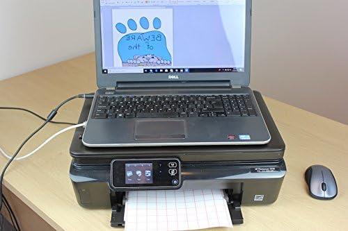 PPD DIN A4 Inkjet Transferpapier Transferfolie B/ügelfolie f/ür Tintenstrahldrucker und helle Textilien DIN A4 x 100 Blatt PPD06-100