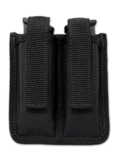 Barsony Double Magazine Pouch for Colt 1911 Officer