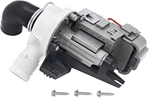 Primeswift W10536347 Washer Drain Pump for Whirlpool Kenmore Maytag Washers - Replaces W10217134 AP5650269 W10281682 PS5136124