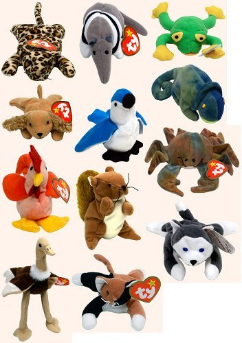 428ac7f57f5 Image Unavailable. Image not available for. Color  TY - McDonalds - Teenie  Beanie Babies ...
