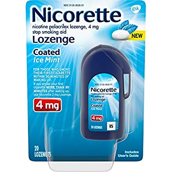 Amazon com: Mini Nicorette Nicotine Lozenge Stop Smoking Aid