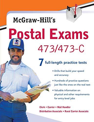 Pdf Test Preparation McGraw-Hill's Postal Exams 473/473C (No. 473/473c)