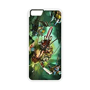 iPhone 6 Plus 5.5 Inch Cell Phone Case White Defense Of The Ancients Dota 2 MEEPO 005 LWY3538529KSL