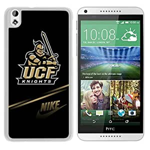 NCAA UCF Knights White Customize HTC Desire 816 Phone Cover Case
