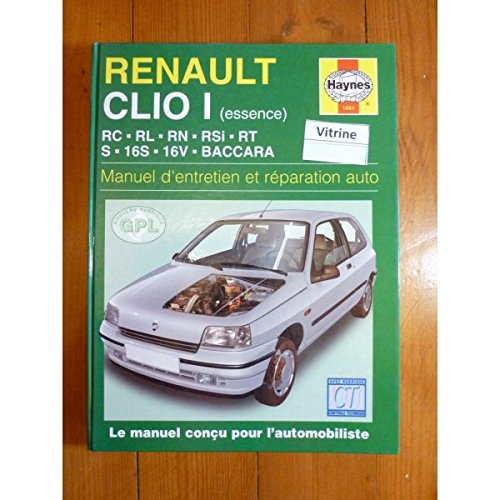 Renault Clio Essence French Service And Repair Manuals