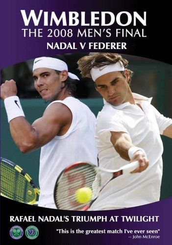 Wimbledon The 2008 Mens Final - Nadal vs Federer: Rafael Nadals Triumph at Twilight DVD: Amazon.es: unknown, unknown: Cine y Series TV