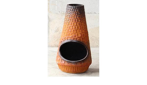 MGI Developpement - Brasero, estilo mexicano, auténtico, terracota, hecho a mano, tamaño grande, ideal para interior y exterior, horno de pan y pizza ...