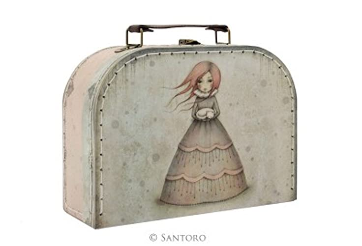 Travellers Rest, Santoros Mirabelle Collection (Small Suitcase Box) at Amazon Womens Clothing store: