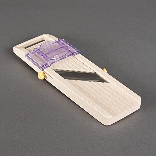 Benriner Japanese Mandoline–Ivory 31.5x 11x 3cm 8486JAPP