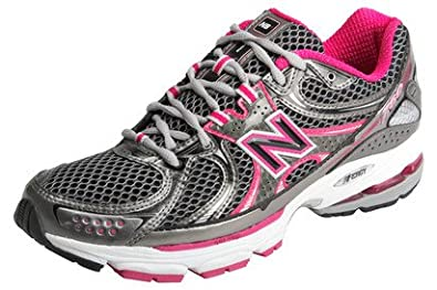 a0eb9f46aa31 NB 760 B Stability Running Shoes Black/Silver/Rose - size 7.5 ...