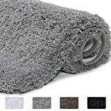 Best Bath Rugs - Lifewit Bathroom Rug Bath Mat Non-Slip Rubber Microfiber Review