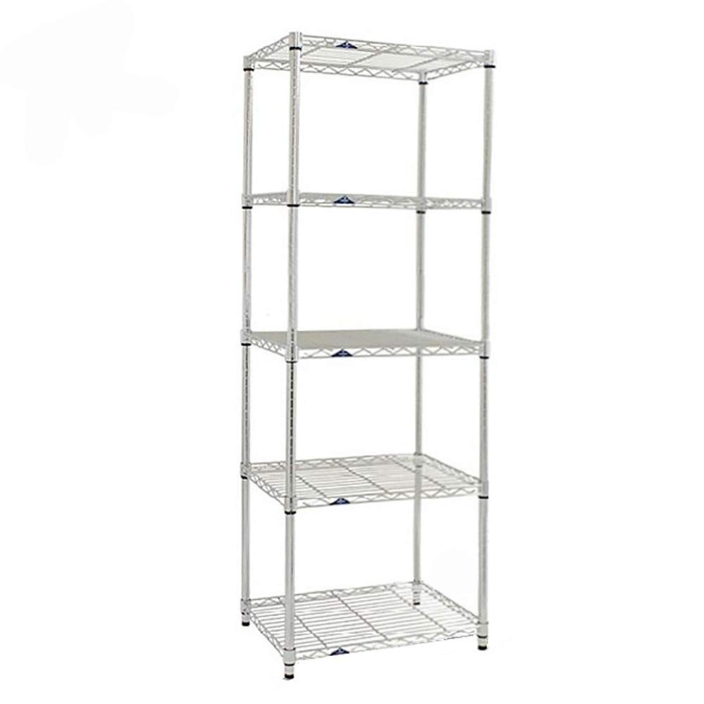 HUO Length 55 Wide 40 Kitchen Rack Bathroom Bathroom Balcony Floor Multi-Layer (Size : 150C)