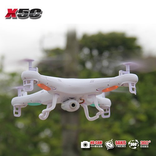 (Syma X5c Explorers 2.4g 4ch Rc Quadcopter with Hd Camera 360 Eversion Gyro)