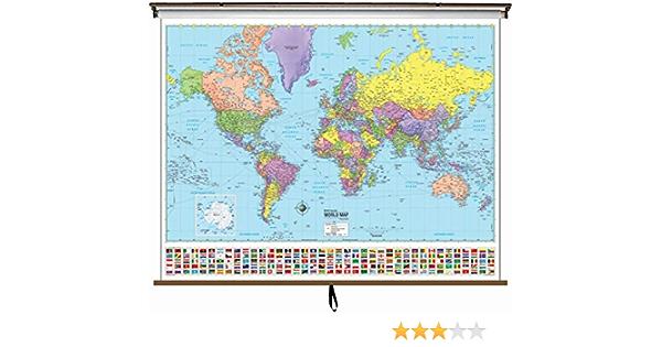 Advanced Political Map World