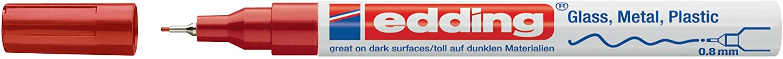 Edding 224990 Marcador permanente 0.8 mm color azul