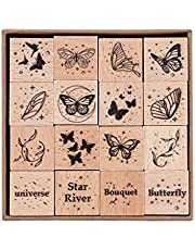 RisyPisy drewniane znaczki