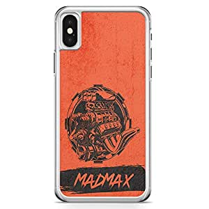 Loud Universe Car Lover iPhone x Case Madmax iPhone x Cover with Transparent Edges
