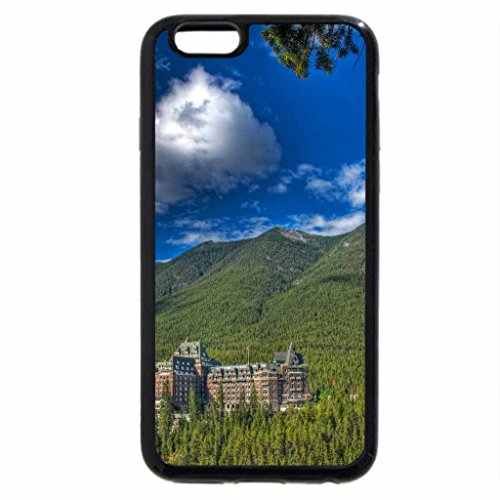 iPhone 6S / iPhone 6 Case (Black) fantastic hotel resort in the mountains hdr