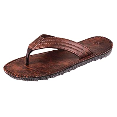0782ade389a8b7 Magiyard Tongs Hommes Flip Flops Homme Sandales Tong Homme Chaussures  Sandales Homme Tongs Hommes Pas Cher Tongs Homme Cool Shoes Chaussures De Plage  Homme: ...