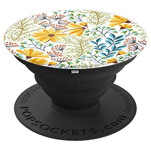 Botanical Floral Garden Flower Vintage - PopSockets Grip and Stand for Phones and - Flower Garden Floral