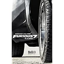 """Fast and Furious 7 Movie Poster (24 x 36"""") Special Thick Poster, Paul Walker, Vin Diesel, The Rock, Michelle Rodriguez"""