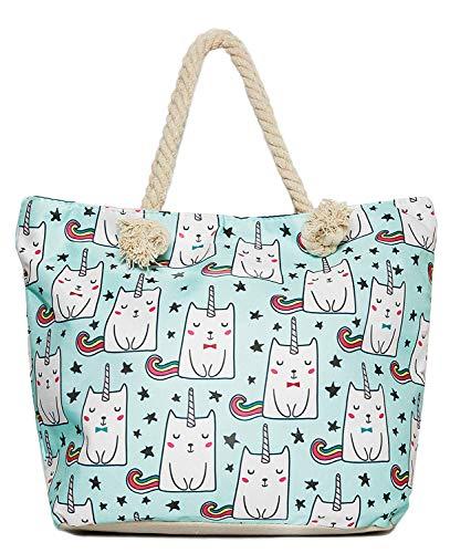 Tote Bag - Unicorn - Cat Unicorn