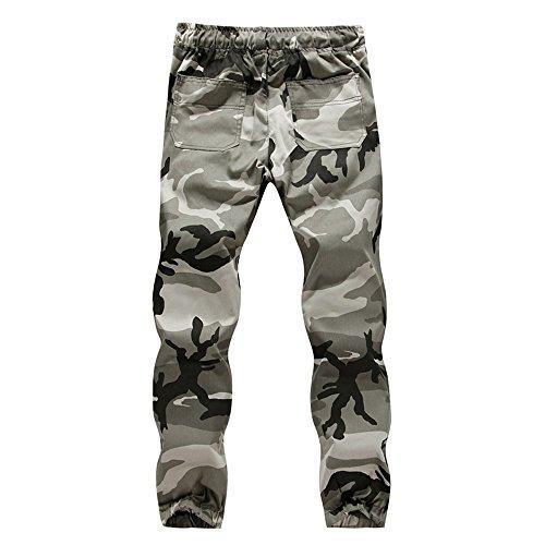 (Mens Casual Jogger Plus Size Camo Sportwear Baggy Harem Pants Slacks Trousers Loose Fit Sweatpants,M-5XL)