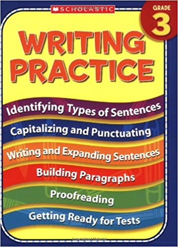 Amazon.com: Writing Practice: Grade 3 (9780439819121): Terry ...