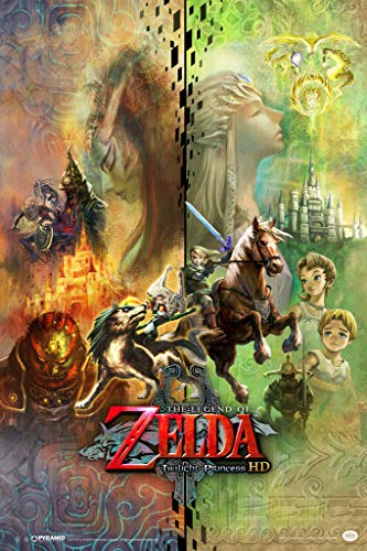 Pyramid America The Legend of Zelda Twilight Princess HD Collage Video Game Gaming Poster 12x18 inch
