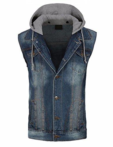 Hoodie Vest Jacket - 9