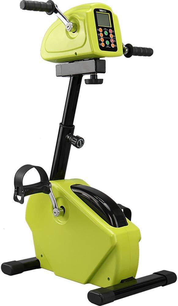 Guoyajf Fisioterapia Electrónica Y Pedal De Bicicleta De Rehabilitación Motorizada Entrenador para Personas Mayores Y Discapacitados - para El Ejercicio De Recuperación del Brazo Y La Rodilla: Amazon.es: Hogar