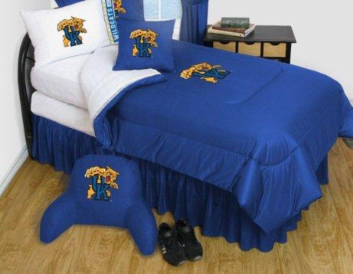 Kentucky Wildcats Jersey Comforter (Kentucky Wildcats Bedding - NCAA Comforter and Sheet Set Combo -)