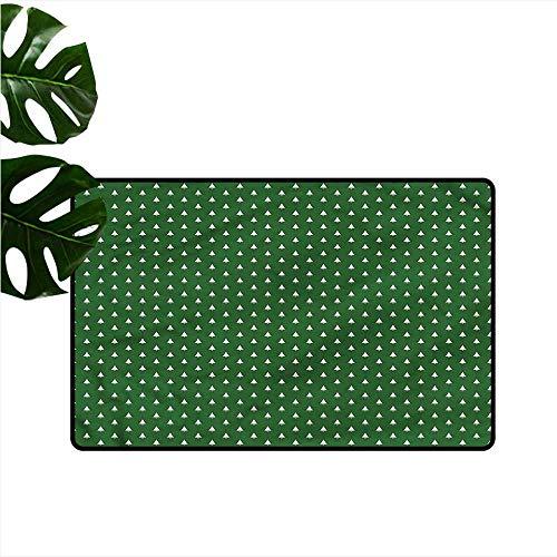 Welcome Door mat Christmas Little Bells Country Home Decor W30 xL39
