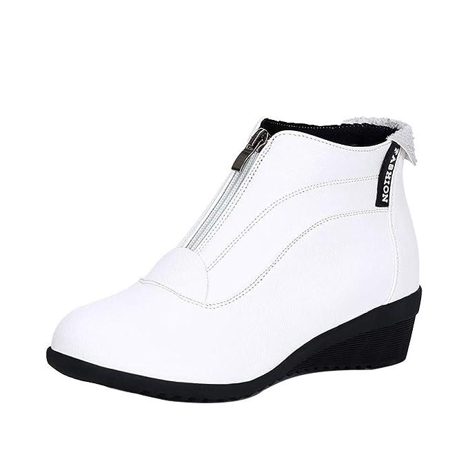 Botas de Mujer ZARLLE Otoño e Invierno Zapatos de Baile ...