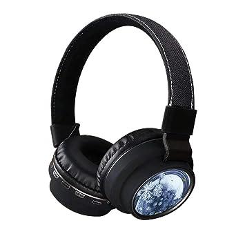 Inmark - Auriculares Bluetooth inalámbricos con tarjeta SD y ...