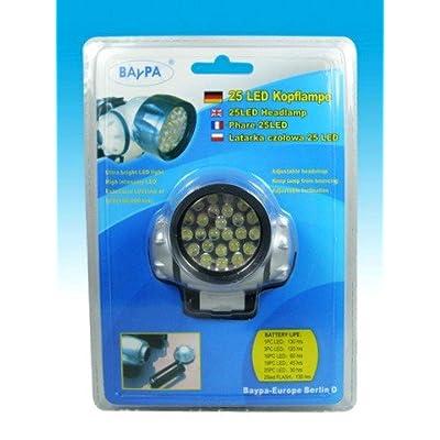 1x - Lampe frontale 25 LED - Qualité COOLMINIPRIX®