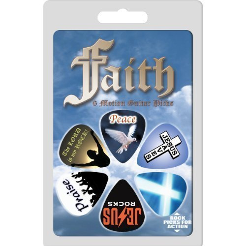 Pick Jesus Guitar Picks - Hot Picks Faith Guitar Picks