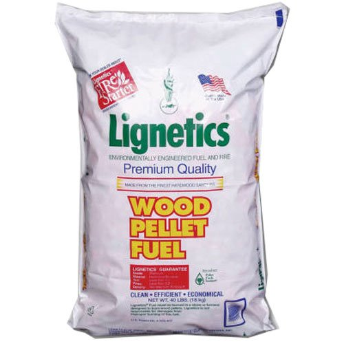 LIGNETICS OF W VIRGINIA FG10PL-WV 40LB Wood Pellet Fuel by LIGNETICS OF W VIRGINIA