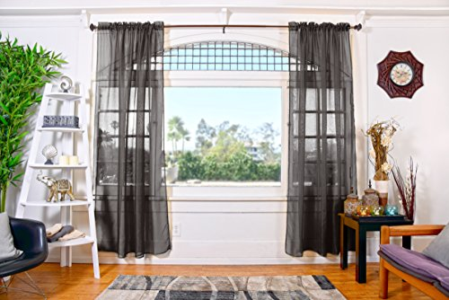 All American Collection Sheer Curtain