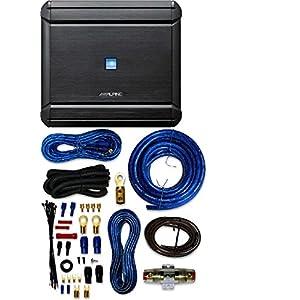 Alpine MRV-V500 5 Channel V Power Digital Amplifier With 4 Gauge Amp Kit