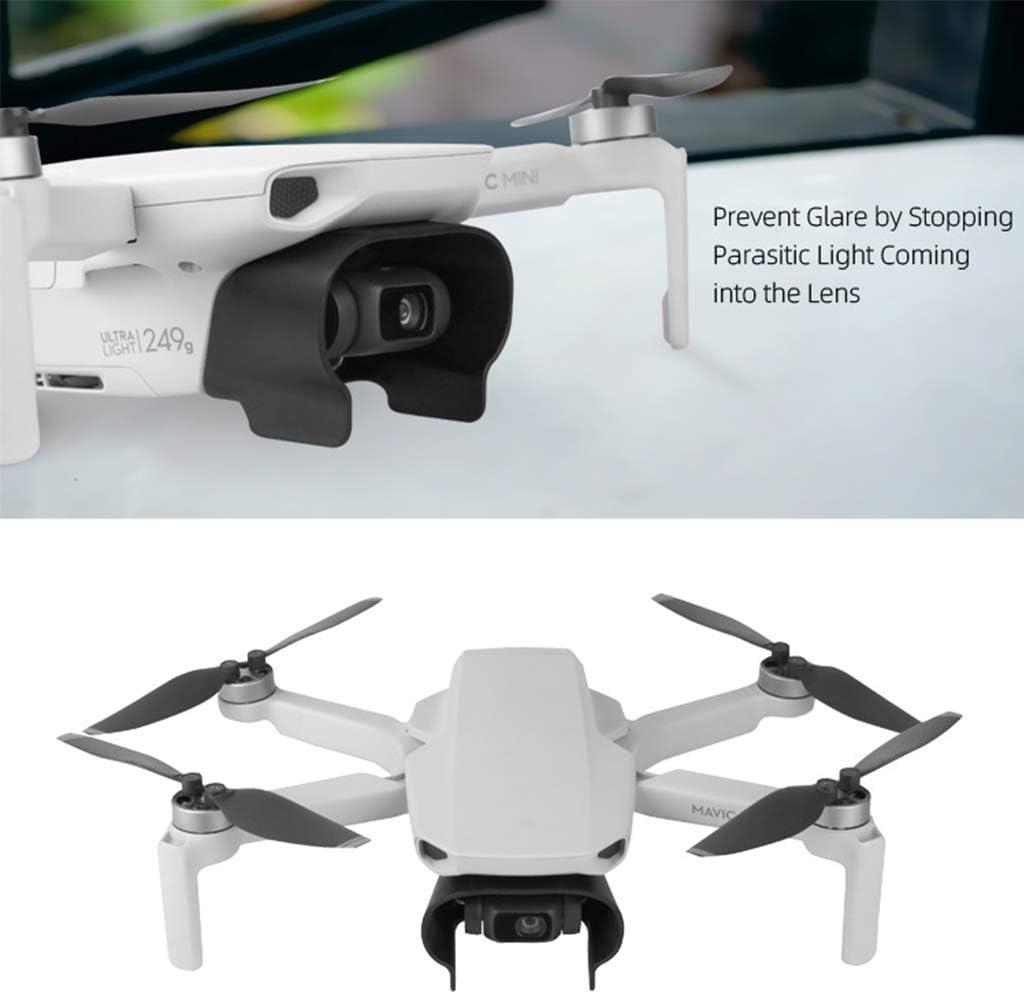 jinxer Camera Lens Sun Hood Protective Cover Compatible with DJI Mavic Mini Drone Black